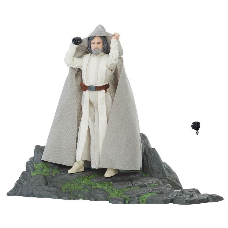 STAR WARS THE BLACK SERIES 6-INCH LUKE SKYWALKER (Jedi Master) on Ahch-To Island