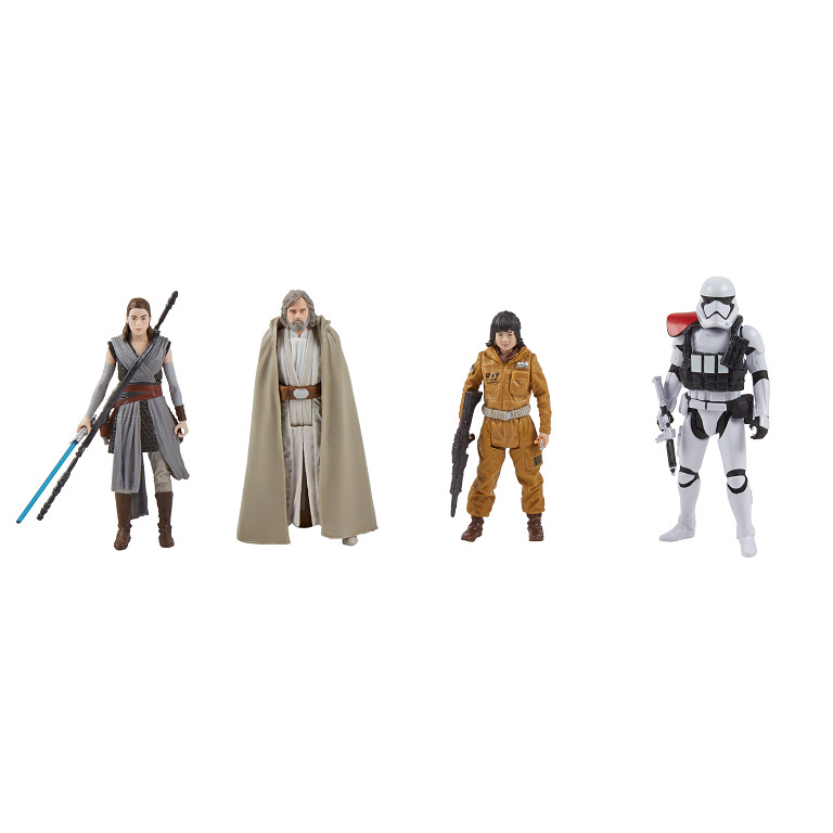 STAR WARS THE LAST JEDI FORCE LINK 3.75-INCH FIGURE 4-PACK
