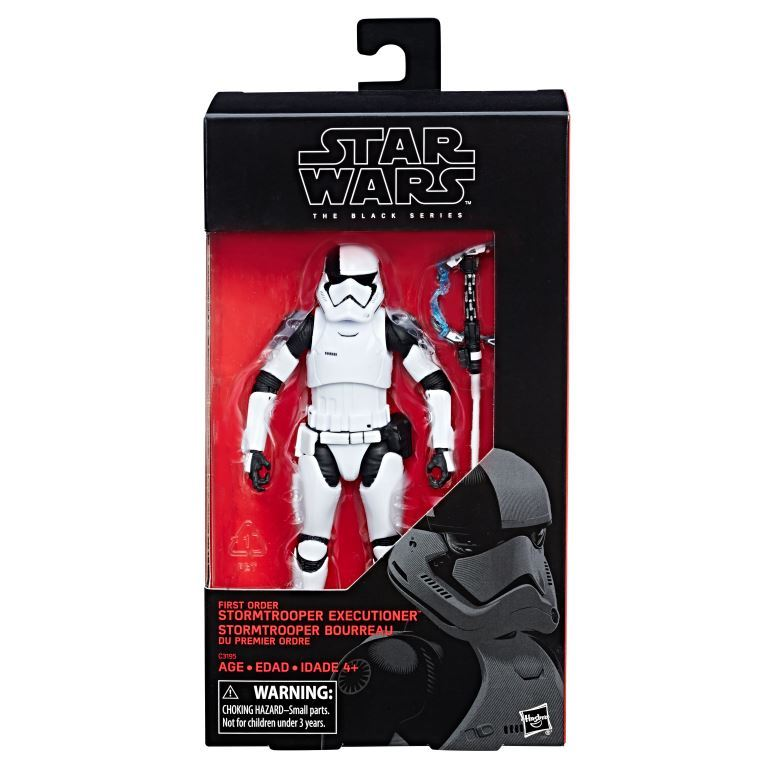 Star Wars The Black Series 6-Inch First Order Stormtrooper Executioner Figure