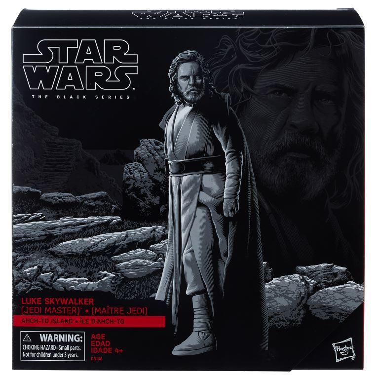 Star Wars The Black Series 6-Inch Luke Skywalker Jedi Master Ahch-To Island - Pack Closed