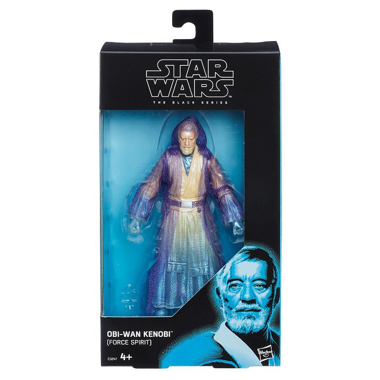 Star Wars The Black Series 6-Inch Obi-Wan Kenobi Force Ghost Figure