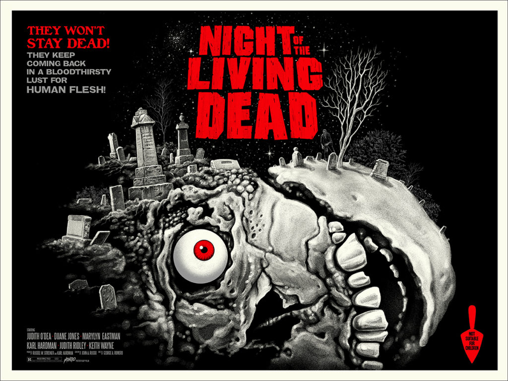 night of the living dead-mondo-gary pullin-variant