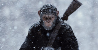 war for the planet of the apes banner HD