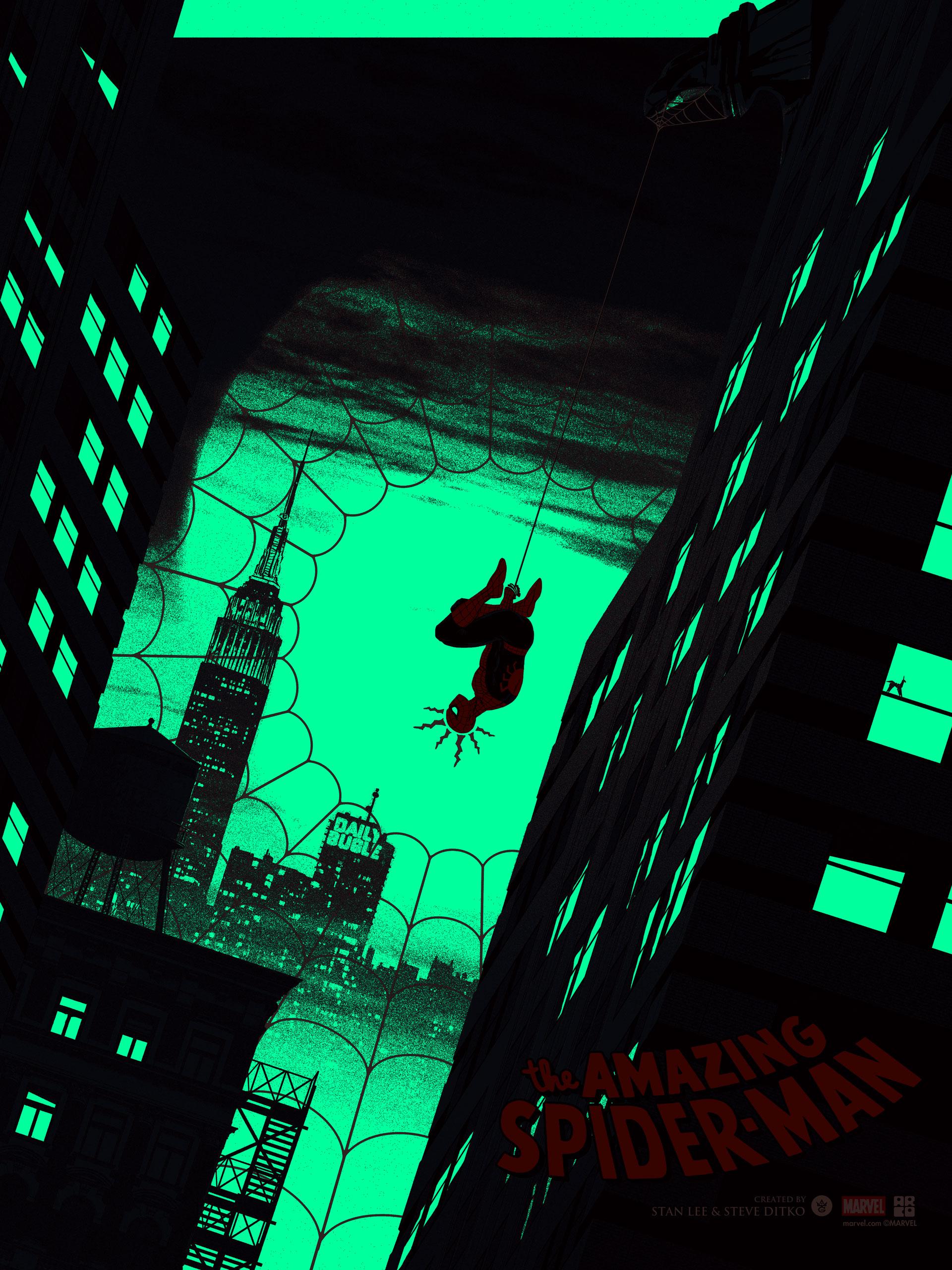Spider-Man_Glow Layer Matt Feguson