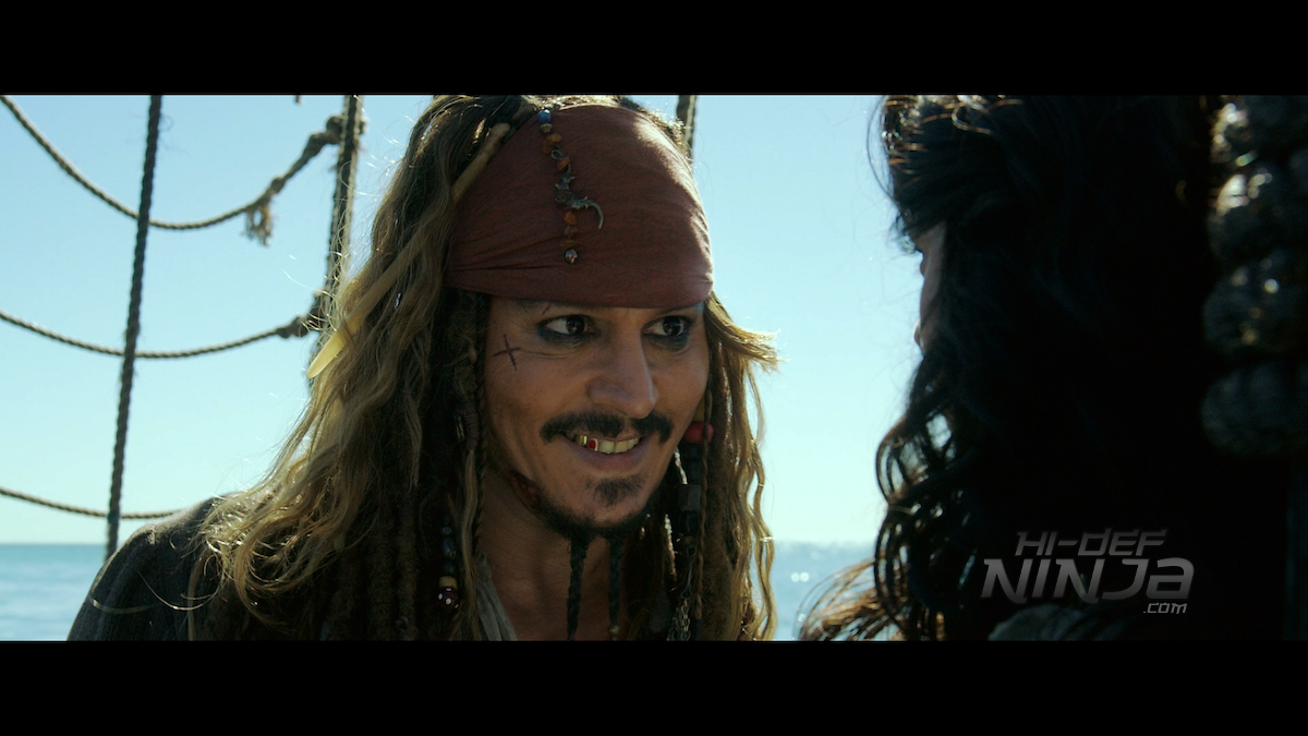 PIRATES OF THE CARIBBEAN: DEAD MEN TELL NO TALES 4k UHD and