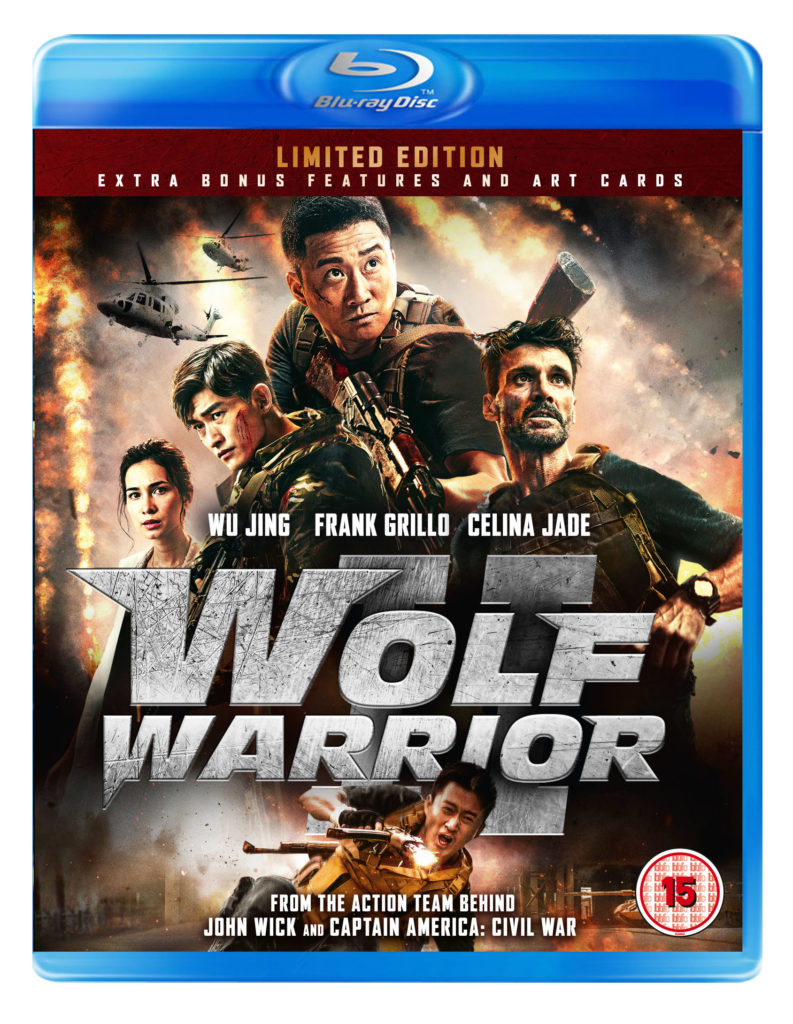 Wolf Warrior Ii Blu Ray Review Uk Hi Def Ninja Blu
