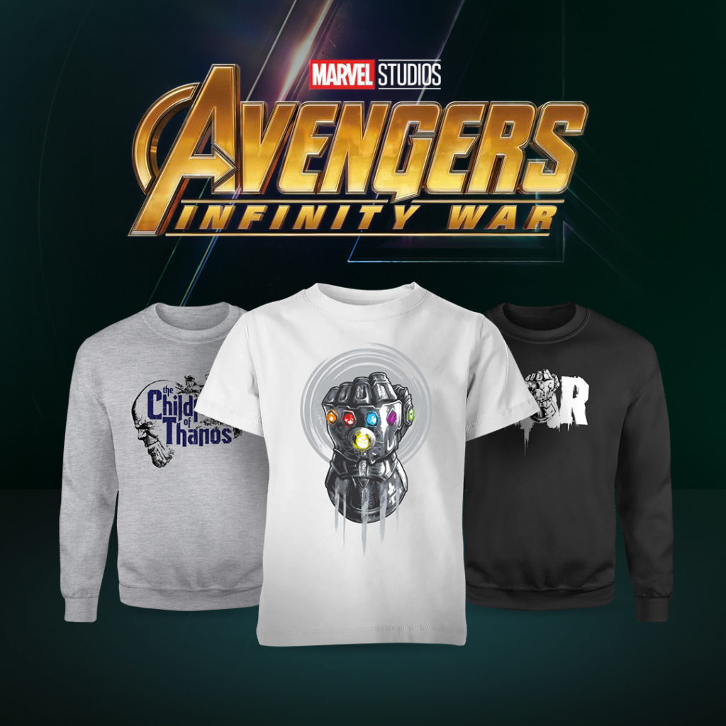 fbfd27e2ffd38a Our friends over at Zavvi have just released official Marvel clothing for  Avengers Infinity War! There s a whole host of different t-shirts