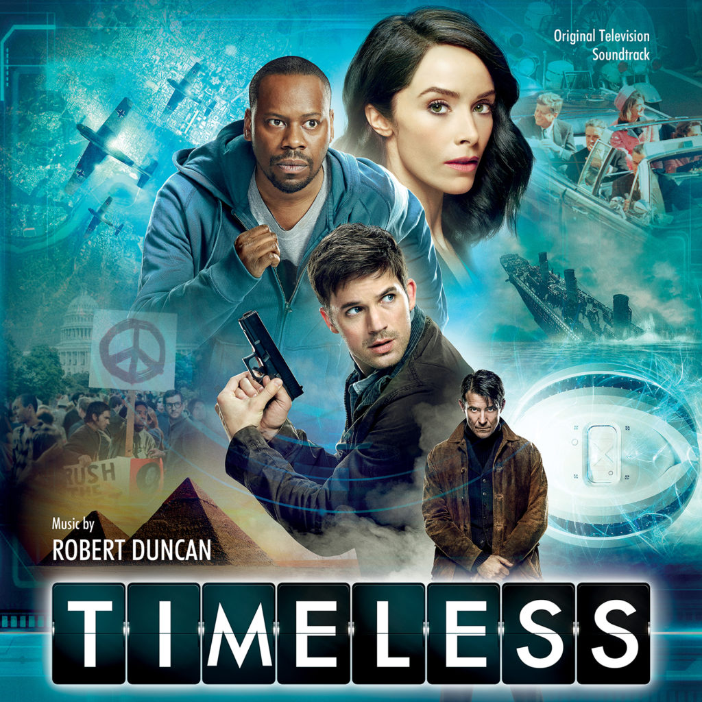 TIMELESS: SEASON 1 Soundtrack Review