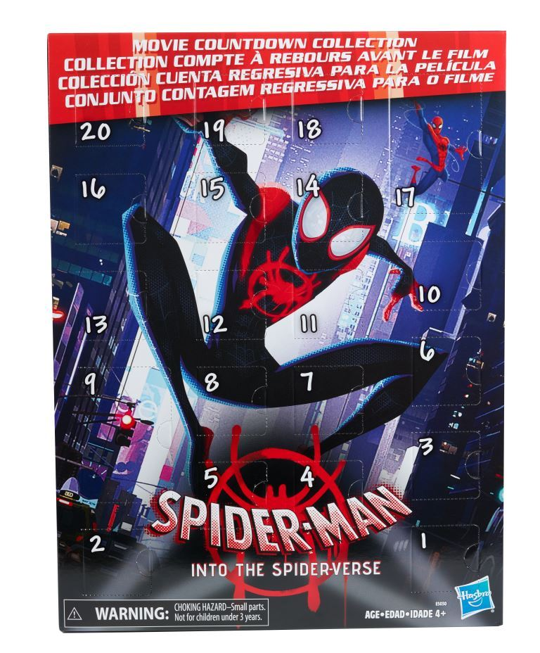 Spider Man Into The Spider Verse Products From Hasbro Revealed Hi