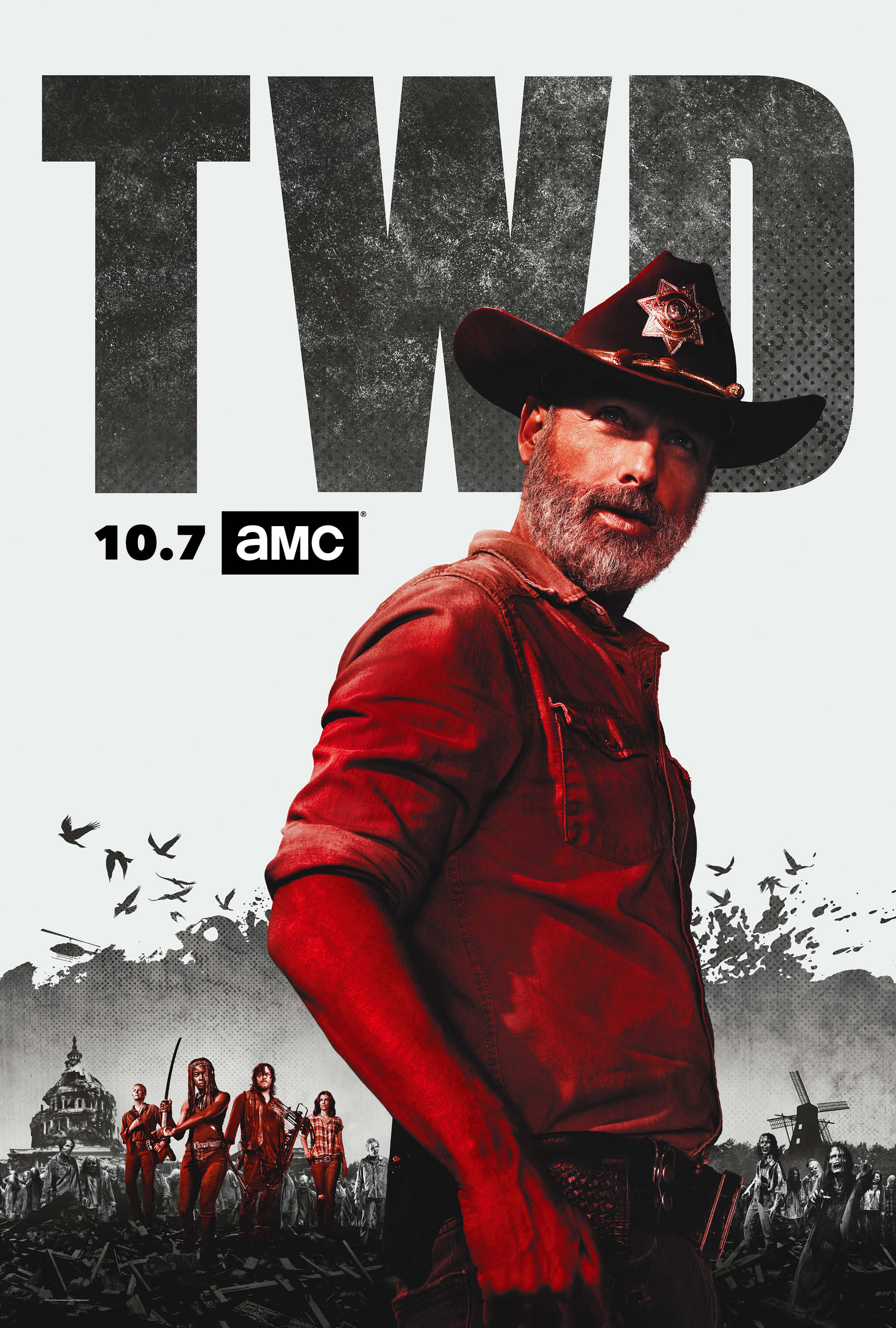 Amc Releases The Walking Dead Season 9 Key Art And Images